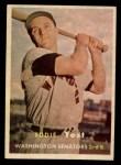 1957 Topps #177  Eddie Yost  Front Thumbnail
