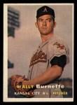 1957 Topps #13  Wally Burnette  Front Thumbnail