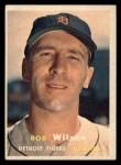 1957 Topps #19  Bob Wilson  Front Thumbnail