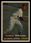 1957 #43  Connie Johnson  Front Thumbnail