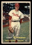 1957 Topps #158  Curt Simmons  Front Thumbnail