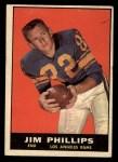 1961 Topps #51  Jim Phillips  Front Thumbnail