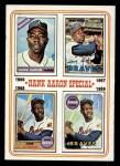1974 Topps #5   -  Hank Aaron Hank Aaron Special 66-69 Front Thumbnail