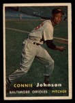 1957 Topps #43   Connie Johnson Front Thumbnail