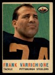 1959 Topps #119   Frank Varrichione Front Thumbnail