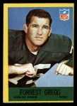 1967 Philadelphia #77   Forrest Gregg Front Thumbnail