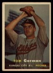 1957 Topps #87   Tom Gorman Front Thumbnail