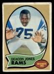 1970 Topps #125   Deron Johnson Front Thumbnail