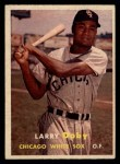 1957 Topps #85   Larry Doby Front Thumbnail