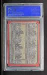 1973 Topps #224   Checklist 133-264 Back Thumbnail
