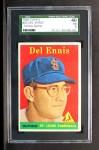 1958 Topps #60 *YN* Del Ennis  Front Thumbnail