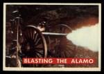 1956 Topps Davy Crockett #54 GRN Blasting the Alamo   Front Thumbnail
