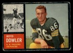 1962 Topps #71  Boyd Dowler  Front Thumbnail