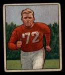 1950 Bowman #58   William Fischer Front Thumbnail