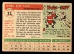 1955 Topps #11  Ferris Fain  Back Thumbnail