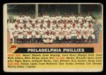 1956 Topps #72 CEN Phillies Team  Front Thumbnail