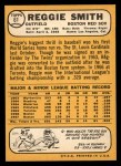 1968 Topps #61   Reggie Smith Back Thumbnail