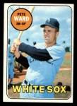 1969 Topps #155  Pete Ward  Front Thumbnail