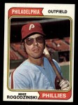 1974 Topps #492   Mike Rogodzinski Front Thumbnail