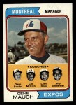 1974 Topps #531  Expos Field Leaders   -  Gene Mauch / Dave Bristol / Larry Doby / Cal McLish / Jerry Zimmerman Front Thumbnail