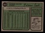 1974 Topps #367   Norm Cash Back Thumbnail