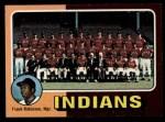 1975 #331   -  Frank Robinson Indians Team Checklist Front Thumbnail