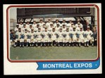 1974 Topps #508  Expos Team  Front Thumbnail