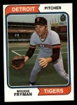 1974 Topps #555   Woodie Fryman Front Thumbnail