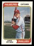 1974 Topps #564   Mike Ryan Front Thumbnail