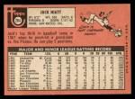 1969 Topps #204   Jack Hiatt Back Thumbnail