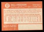 1964 Topps #407   Bill Freehan Back Thumbnail