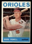 1964 Topps #89   Boog Powell Front Thumbnail