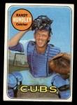 1969 Topps #347  Randy Hundley  Front Thumbnail