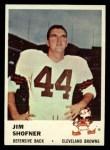 1961 Fleer #15   Jim Shofner Front Thumbnail