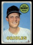 1969 Topps #86  Pete Richert  Front Thumbnail