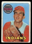 1969 Topps #267   Vincente Romo Front Thumbnail