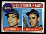1969 Topps #31   -  Gary Gentry / Amos Otis Mets Rookies Front Thumbnail