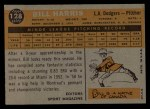 1960 Topps #128   -  Bill Harris Rookies Back Thumbnail