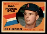 1960 Topps #137  Rookies  -  Lou Klimchock Front Thumbnail
