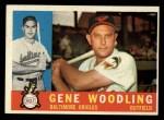 1960 Topps #190  Gene Woodling  Front Thumbnail