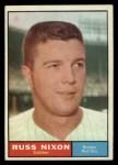 1961 Topps #53  Russ Nixon  Front Thumbnail