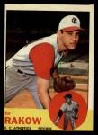 1963 #82  Ed Rakow  Front Thumbnail