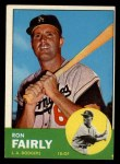 1963 Topps #105 ^COR^ Ron Fairly  Front Thumbnail