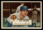 1952 Topps #234   Steve Souchock Front Thumbnail