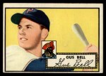 1952 Topps #170  Gus Bell  Front Thumbnail