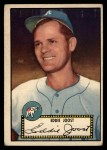 1952 Topps #45 BLK Eddie Joost  Front Thumbnail
