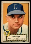 1952 Topps #50 RED  Marv Rickert Front Thumbnail
