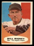 1961 Topps #225   Bill Rigney Front Thumbnail