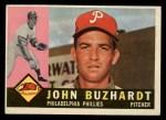 1960 Topps #549   John Buzhardt Front Thumbnail