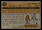 1960 Topps #137   -  Lou Klimchock Rookies Back Thumbnail